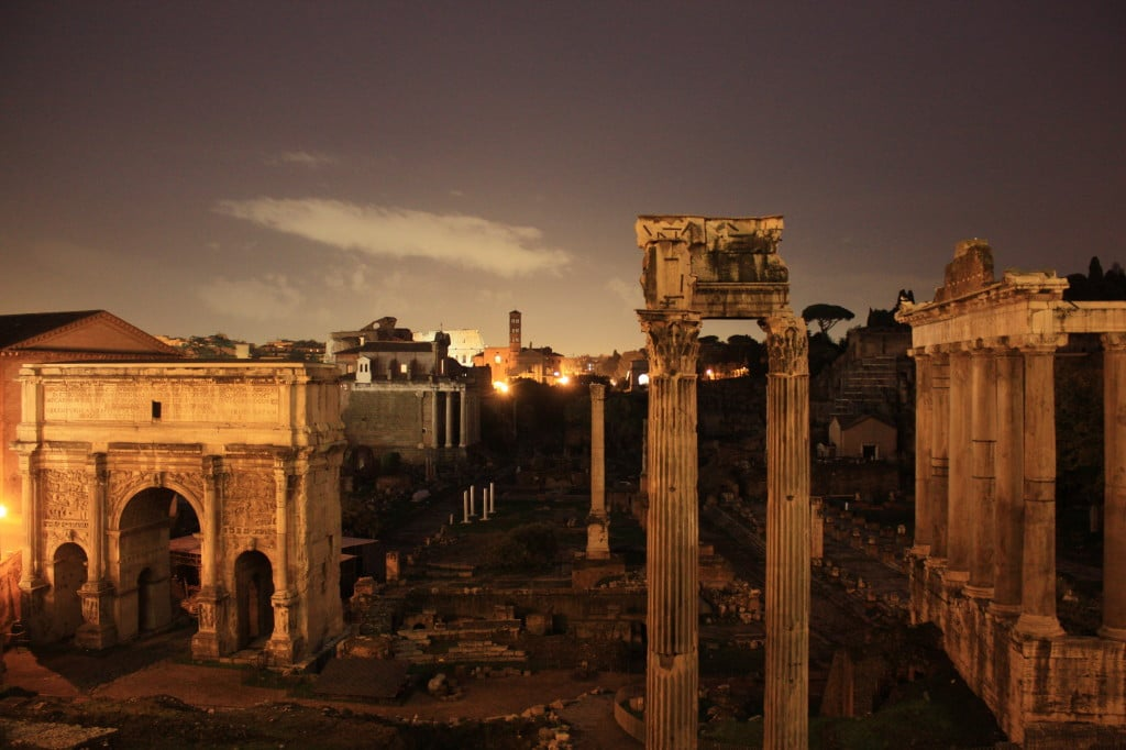 Roman Forum   Courtesy of Martin Fisch.