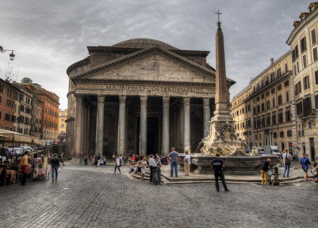 The Pantheon   Courtesy of Neil Howard