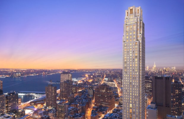 30 Park Place Tallest Residential Tower To Grace Ny