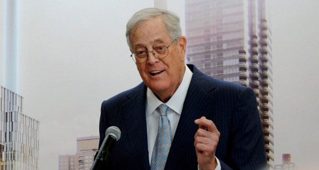 David Koch, billionaire