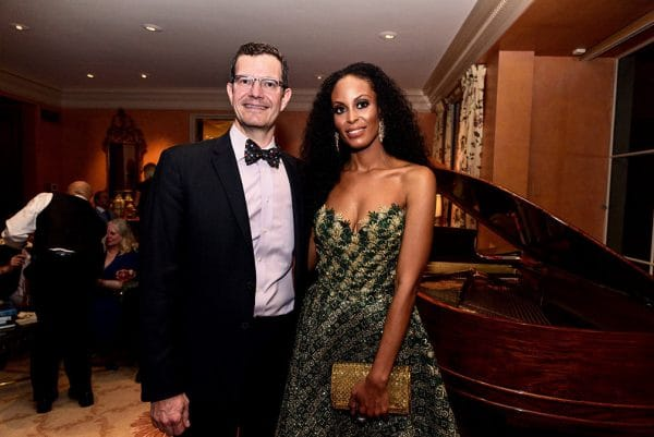 Dallas Opera General Director, Ian Derrer and Deve Sanford
