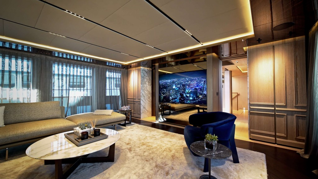 Admiral Geco Yacht entertainment room